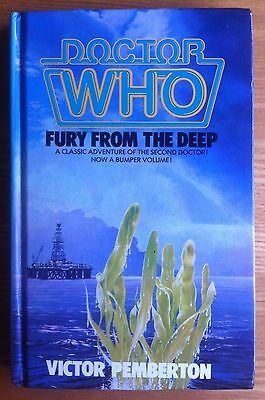 Doctor Who - Fury From The Deep W.H.Allen hardback book 1986 NOT ex-library