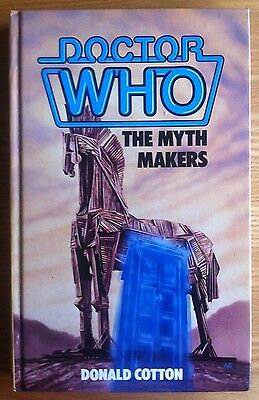 Doctor Who - The Myth Makers W.H.Allen hardback book 1985 NOT ex-library