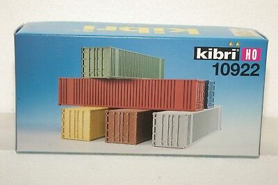 Kibri ho 10922 CONTAINERS UNOPENED