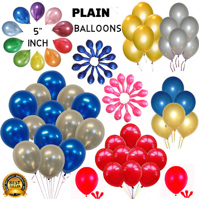 "200 standard 5"" size round Latex Small Party Balloons 9 colours party baloons"