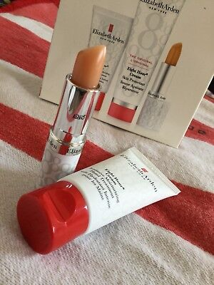 Elizabeth Arden Eight Hour Handcreme 30 ml, Lippen Schutz Stift SPF 15 Neu !