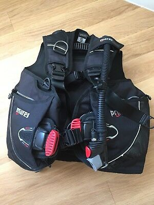 Mares Prime MRS Plus BCD Jacket Small used on max 25 open water dives