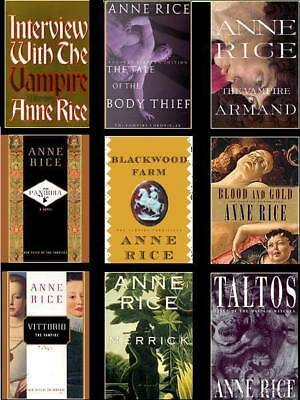 Anne Rice Mega Audiobook Collection