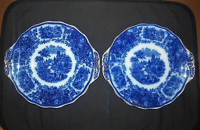 Pair of Middleport Pottery Burgess & Leigh Nonpareil Platters