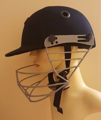 Cricket Helmet unisex adult size face & chin protection grill guard adjustable