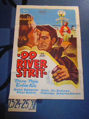99 River Street 1953 - Evelyn Keyes John Payne - Exyu Movie Poster [55]