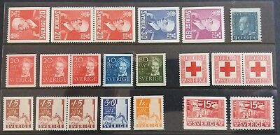 Sweden - Lot MNH - All Different