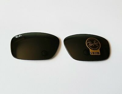 New Authentic Replacement Rayban lenses Sunglasses Plastic RB4196 61-17 601 G15