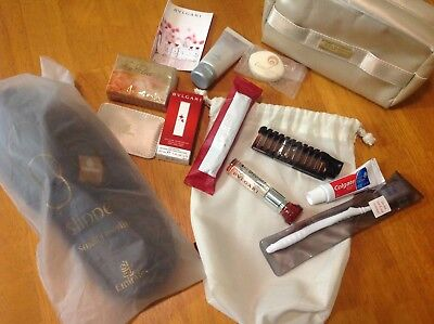 Emirates Womens  Bvlgari  First Class Amenity Kit With Extras.