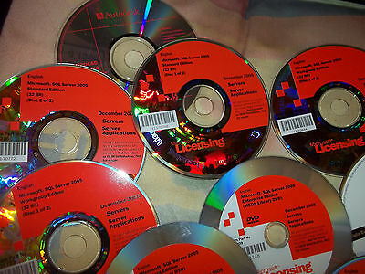 Last Microsoft SQL Server & mixed Lot Discs
