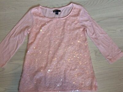 GAP Girls long Sleeved Top Age 10-11 Years Autumn/winter Party Sequins
