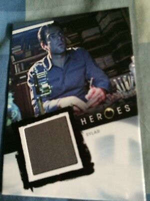 Heroes Pieceworks Sylar Zachary Quinto Costume Card