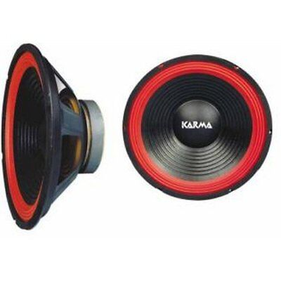 "Karma Red 12-30 350W Woofer x2 Coppia (pair)  11"" / 27.5 cm"