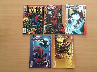 Lotto 5 Spiderman / Uomo Ragno