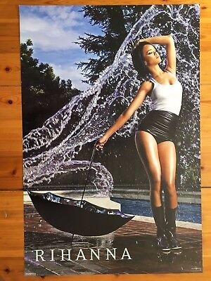 Rihanna Photo By Roberto D'este, Rare Authentic,licensed 2007 Poster