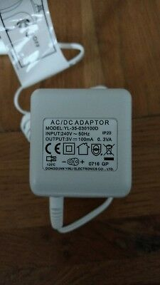 Mains charger for a Waterpik WP450 - 3 pin power plug