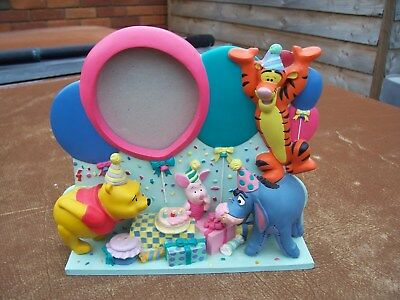 From Disney Winnie The Pooh And Friends Happy Birthday Photograph Frame