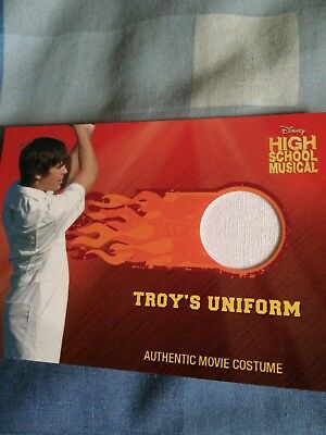 Disney High School Musical Topps Troy Zac Efron Costume Card