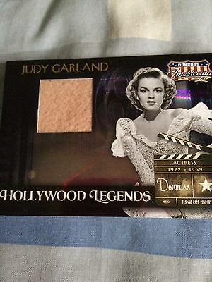 Judy Garland Hollywood Legends Costume Card