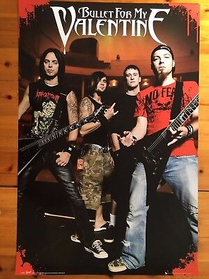 Bullet For My Valentine,music Band, Authentic Licensed 2010 Poster