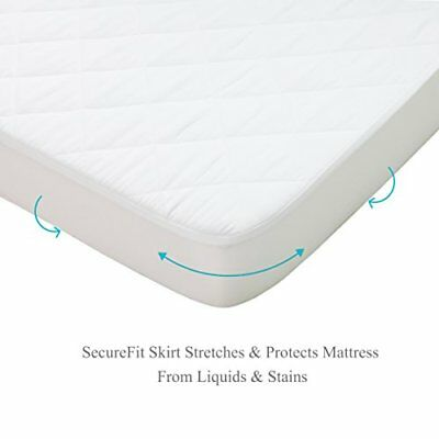 Bouncy Baby Pack N Play Mattress Pad Hypoallergenic Cushioned & Soft Waterproof