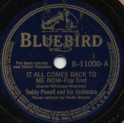 "78er Jazz Swing Teddy Powell Orchestra ""Sunset At Sea"""