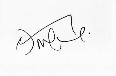 Hand Signed Danny McGuire Leeds Rhinos 6 X 4 White Index Card Super League 2017