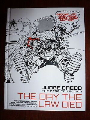 """Judge Dredd : the Mega Collection / #33 / issue 41 / """"The Day the Law Died"""""""