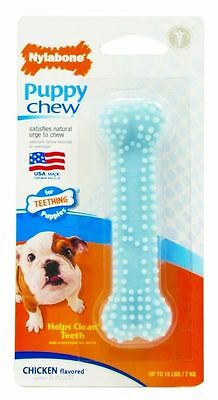 Nylabone Extra Small Puppy Up To 7 K Teething Chew Baby Blue Or Pink 9.5 Cm Toy