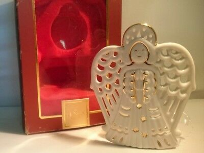 Lenox Bright Christmas Angel Votive Holder tea light