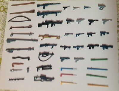 Vintage Star Wars New Reproducton Weapons  Many To Choose From