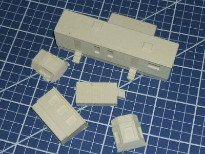 N scale campground mobile home resin kit