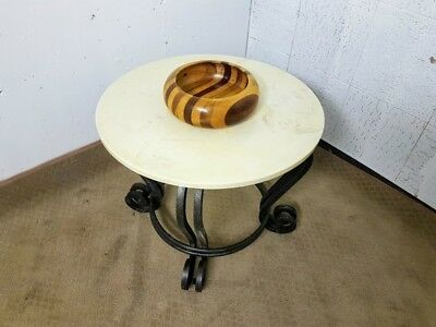 Fabulous Vintage Marble Drinks Table