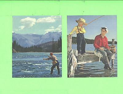 Vintage 2 Calendar Image Fishing Time ...