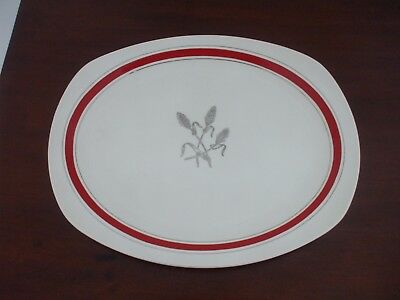 Rare Original Vintage Large Stylecraft Midwinter Plate - Corn Sheaf Design