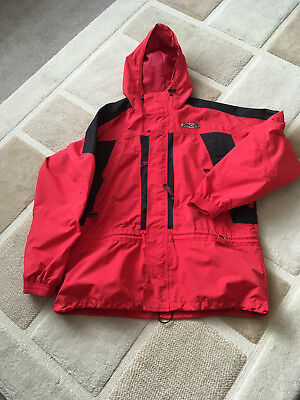 Spyder Red Waterproof Jacket L