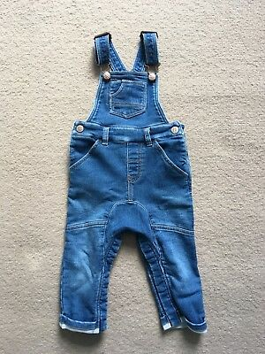 Next Baby Boys 12-18 Months Dungarees - Only Worn Once!