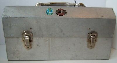 Vintage L. May MFG Sudbury Metal Lunch Box Can Pail Construction Mining Lunchbox