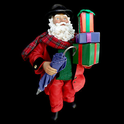 """Clothtique Possible Dreams Santa Claus & Gifts / """"a Jolly Gentleman"""" / #713476"""