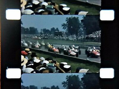 16mm Home Movie ~ 1950's Indianapolis 500 Race # 1