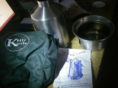 Kelly Kettle camping canoeing water boiler