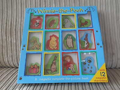 Lovely Winnie The Pooh Interactive Magnetic Picture Book