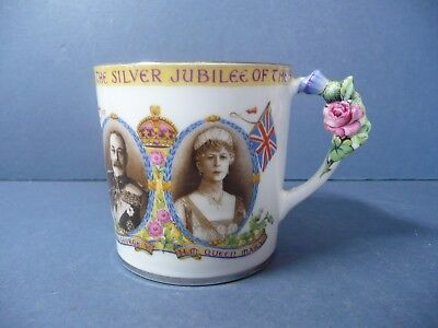 Vintage Paragon King George V And Queen Mary Silver Jubilee  1935