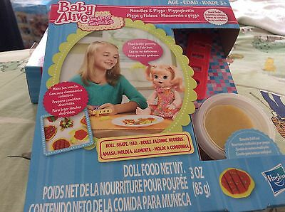 Baby Alive dolls food super snacks WITH shapers-genuine hasbro.