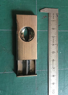 rare ancien mini coupe cigare cigar cutter DONATUS SOLINGEN W GERMANY
