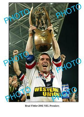 Brad Fittler Sydney Roosters 2002 Premiers A3 Photo