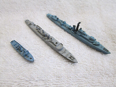 TRI-ANG MINIC SHIPS - SMALL VESSELS TASK GROUP 1x M781, 1x M 788, 1x M805