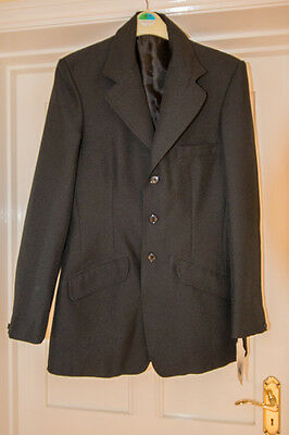 Shires Cotswold mens /youths black , riding, hunting showing jacket - Size 36