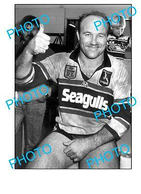 Wally Lewis Qld Rugby Legend Large A3 Photo, Seagulls