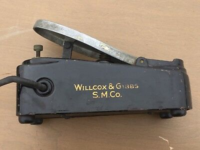 Antique Willcox & Gibbs Sewing Machine Foot Pedal